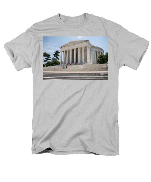 Thomas Jefferson Memorial Men's T-Shirt  (Regular Fit) by Carol Ailles