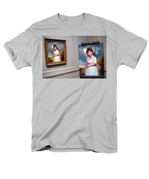 Men's T-Shirt  (Regular Fit) featuring the photograph A Painting Of A Painting by Cora Wandel