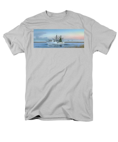 Men's T-Shirt  (Regular Fit) featuring the painting Almost There by Mike Brown