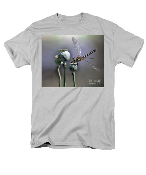 Men's T-Shirt  (Regular Fit) featuring the photograph Dragonfly by Savannah Gibbs