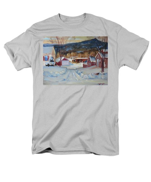 Eddie's Men's T-Shirt  (Regular Fit) by Len Stomski