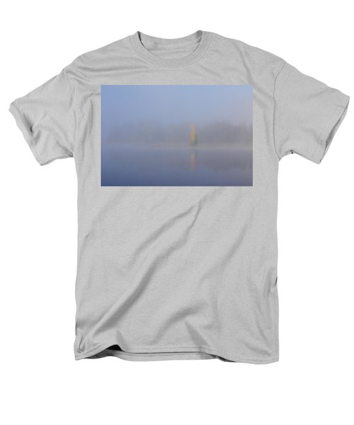 Misty Morning On A Lake Men's T-Shirt  (Regular Fit) by Jouko Lehto