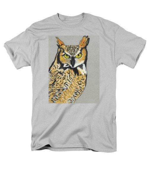 Men's T-Shirt  (Regular Fit) featuring the painting Night Owl by Jeanne Fischer