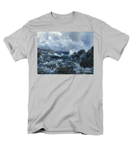 Men's T-Shirt  (Regular Fit) featuring the painting Sailor's Light by Lynne Wright
