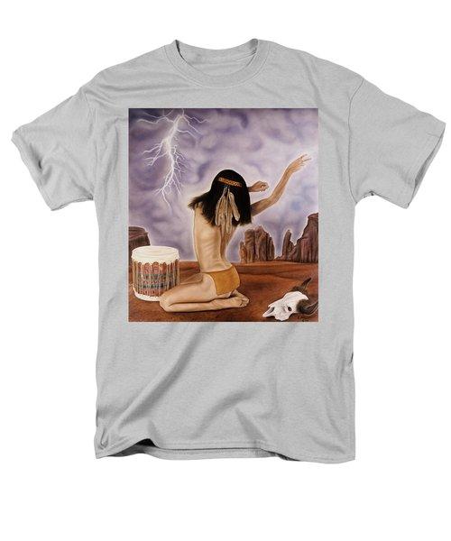 She Called The Rain Men's T-Shirt  (Regular Fit) by Rich Milo