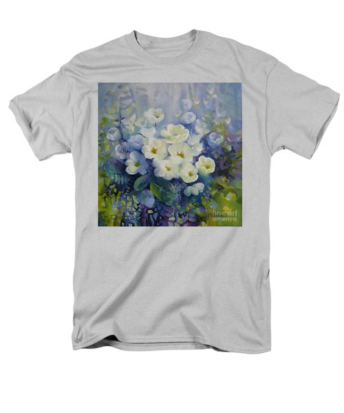 Men's T-Shirt  (Regular Fit) featuring the painting Spring by Elena Oleniuc