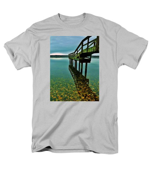 3 Mile Harbor Men's T-Shirt  (Regular Fit) by John Wartman
