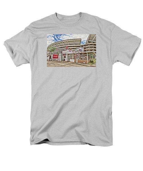 Shadow Of The Stadium Men's T-Shirt  (Regular Fit) by Scott Pellegrin
