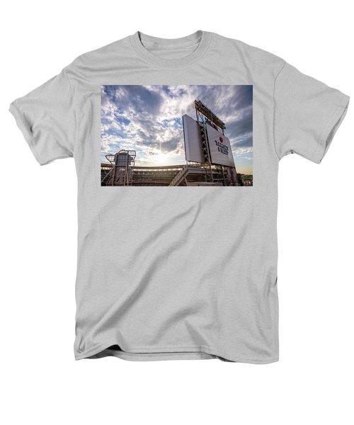 Target Field Sunset Men's T-Shirt  (Regular Fit) by Tom Gort