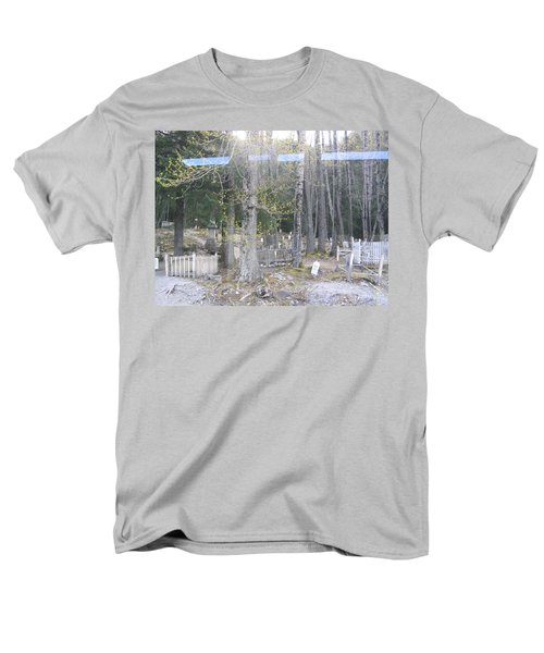 300yr Cemetery Men's T-Shirt  (Regular Fit) by Brian Williamson