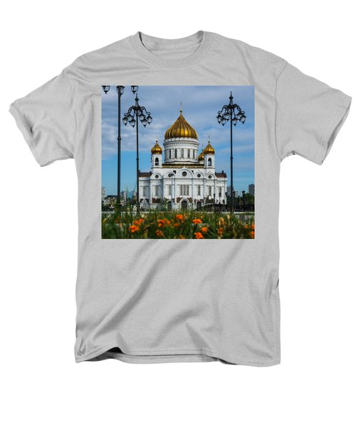 Cathedral Of Christ The Savior Of Moscow - Russia - Featured 3 Men's T-Shirt  (Regular Fit) by Alexander Senin