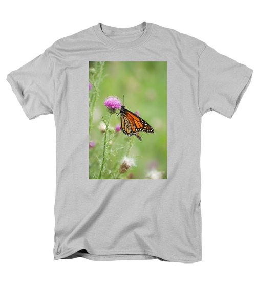 Men's T-Shirt  (Regular Fit) featuring the photograph Monarch Butterfly by Heidi Poulin