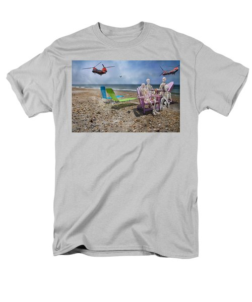 Search Party Men's T-Shirt  (Regular Fit) by Betsy Knapp