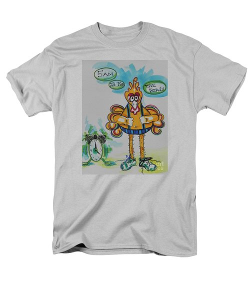 5am Is For The Birds Men's T-Shirt  (Regular Fit) by Chrisann Ellis