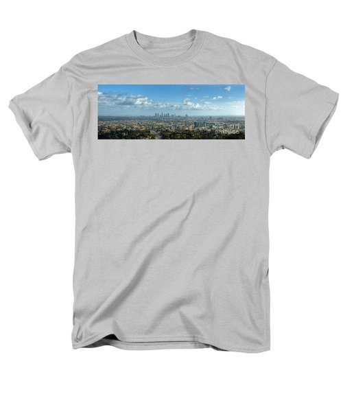 A 10 Day In Los Angeles Men's T-Shirt  (Regular Fit) by David Zanzinger
