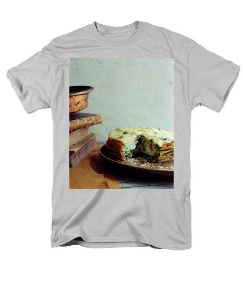 A Gourmet Torte Men's T-Shirt  (Regular Fit) by Romulo Yanes