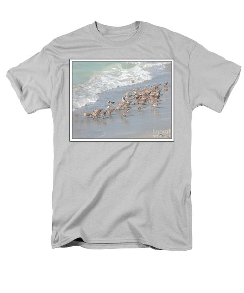 Men's T-Shirt  (Regular Fit) featuring the photograph A Quick Bite by Mariarosa Rockefeller