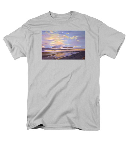 A South Facing Shore Men's T-Shirt  (Regular Fit) by Donna Blossom