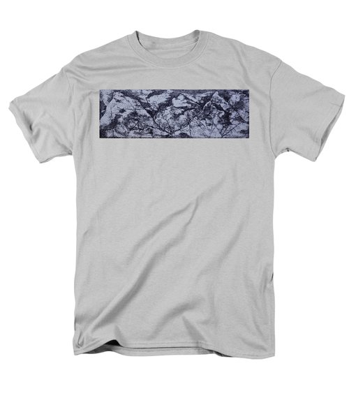 Men's T-Shirt  (Regular Fit) featuring the painting A View by Erika Chamberlin