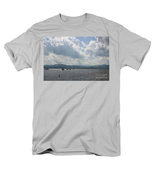 A Weekend On The Water Men's T-Shirt  (Regular Fit) by Barbara Bardzik