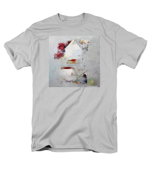 Men's T-Shirt  (Regular Fit) featuring the painting Abstract 2015 04 by Becky Kim