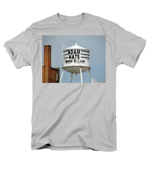 Men's T-Shirt  (Regular Fit) featuring the photograph Adam Hats In Deep Ellum by Charlie and Norma Brock
