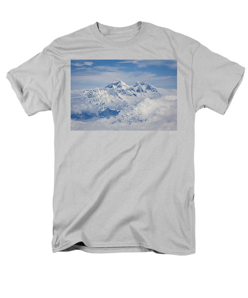 Aerial View Of Mount Everest Men's T-Shirt  (Regular Fit)