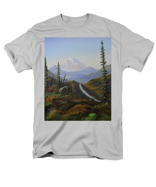 Alaskan Brown Bear Men's T-Shirt  (Regular Fit) by Richard Faulkner