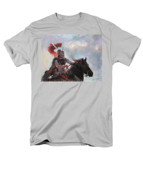 Men's T-Shirt  (Regular Fit) featuring the drawing Alexander The Great  by Viola El