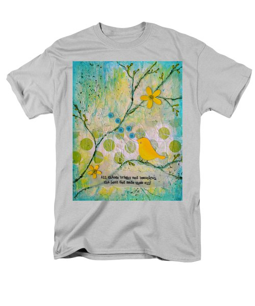 All Things Bright And Beautiful Men's T-Shirt  (Regular Fit) by Carla Parris