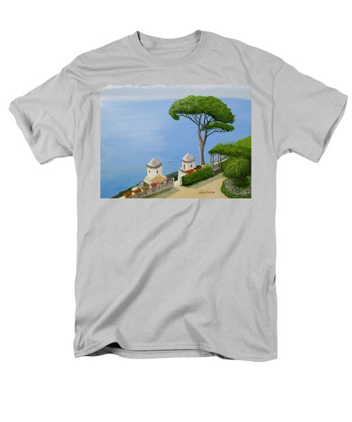 Amalfi Coast From Ravello Men's T-Shirt  (Regular Fit) by Mike Robles