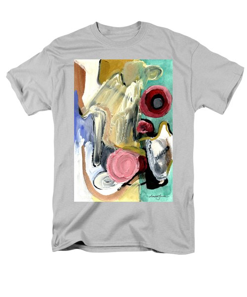 Men's T-Shirt  (Regular Fit) featuring the painting American Beauty by Stephen Lucas