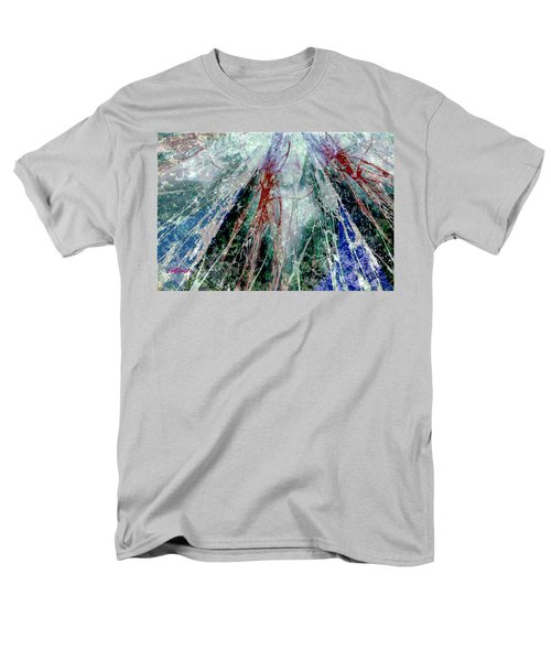Amid The Falling Snow Men's T-Shirt  (Regular Fit) by Seth Weaver
