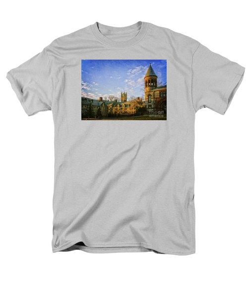 An Afternoon At Princeton Men's T-Shirt  (Regular Fit) by Debra Fedchin