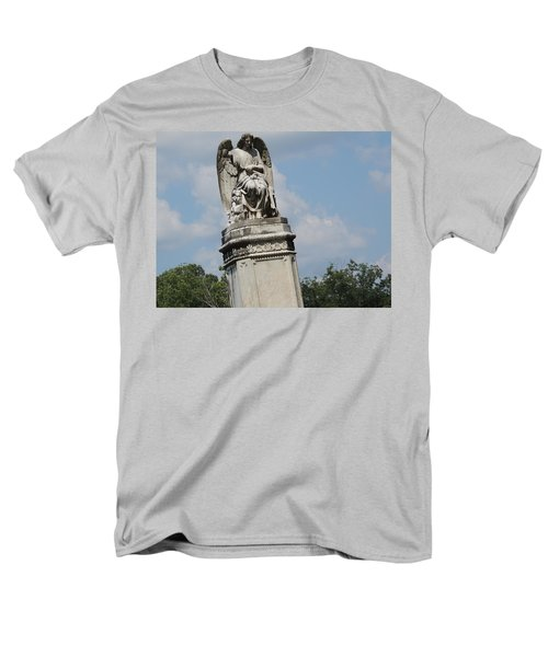 Men's T-Shirt  (Regular Fit) featuring the photograph Angel Made From Stone by Aaron Martens