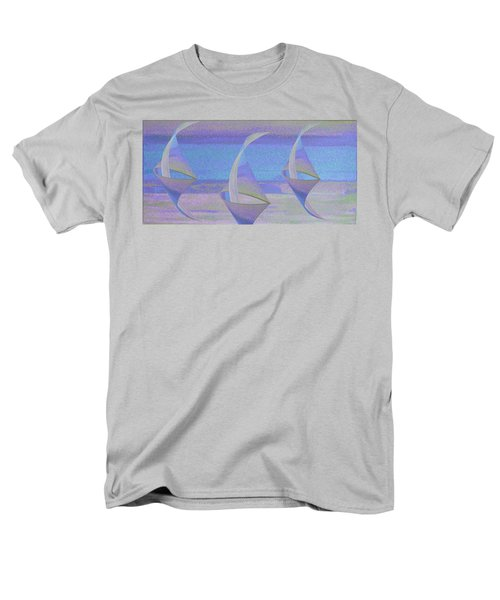 Angelfish3 Men's T-Shirt  (Regular Fit) by Stephanie Grant