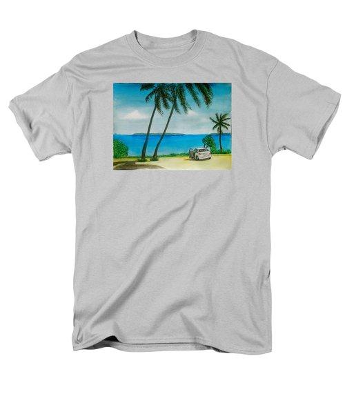 Antigua Men's T-Shirt  (Regular Fit) by Frank Hunter