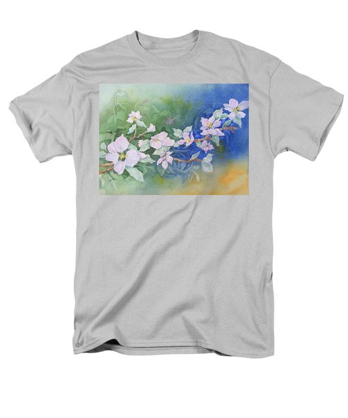 Apple Blossoms 2 Men's T-Shirt  (Regular Fit) by Christine Lathrop