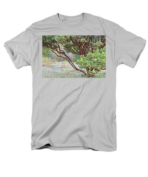 Men's T-Shirt  (Regular Fit) featuring the photograph Arctostaphylos Hybrid by Kate Brown