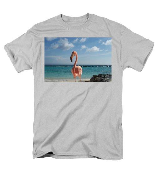 Men's T-Shirt  (Regular Fit) featuring the photograph Aruba Hairy Eyeball by HEVi FineArt
