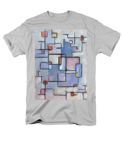 Asbtract Line Series Men's T-Shirt  (Regular Fit) by Patricia Cleasby