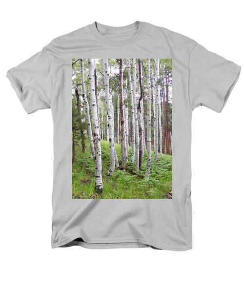 Aspen Forest Men's T-Shirt  (Regular Fit) by Laurel Powell