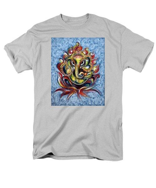 Aum Ganesha Men's T-Shirt  (Regular Fit)