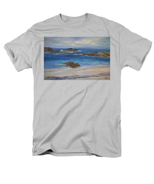 Azure Men's T-Shirt  (Regular Fit) by Valerie Travers