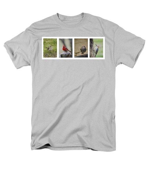 Backyard Bird Series Men's T-Shirt  (Regular Fit) by Heather Applegate