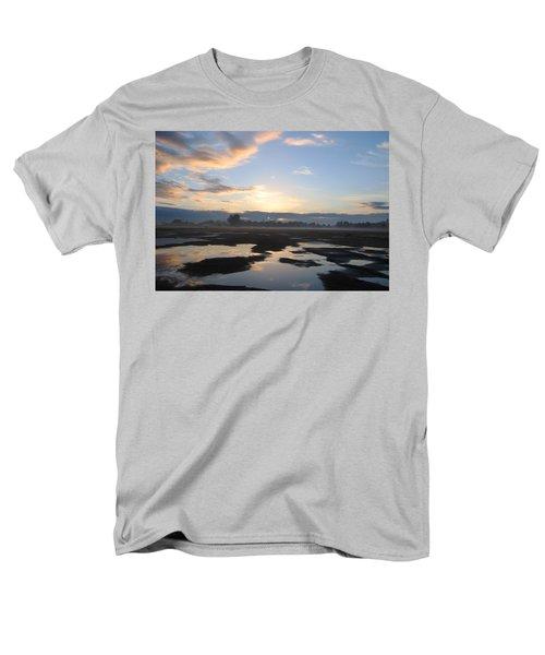 Bakersfield Sunrise Men's T-Shirt  (Regular Fit) by Meghan at FireBonnet Art