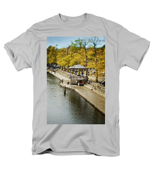 Men's T-Shirt  (Regular Fit) featuring the photograph Bandstand In Chester by Meirion Matthias