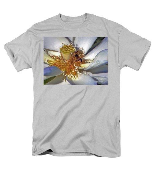 Bee On Lotus Men's T-Shirt  (Regular Fit) by Savannah Gibbs