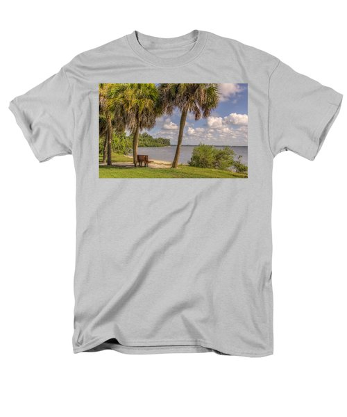Men's T-Shirt  (Regular Fit) featuring the photograph Beside The Shore by Jane Luxton