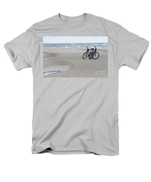 Bicycles On The Beach Men's T-Shirt  (Regular Fit) by Kevin McCarthy